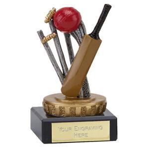 137 A.fx057 Flexx Cricket Trophy Taille 10.0 Cm Gravure Gratuite-afficher Le Titre D'origine RafraîChissant Et Enrichissant La Salive