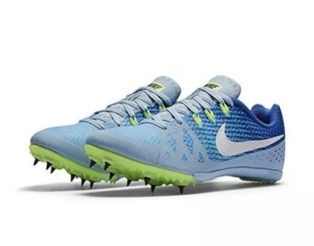 online store da83f 0cc73 Nike Zoom Rival M 8 Women s Track Racing Shoes 806559 401 Blue Size 7 NO  SPIKES