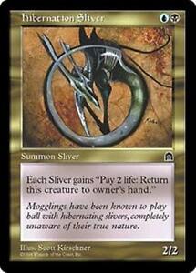 HIBERNATION-SLIVER-Stronghold-MTG-Gold-Creature-Sliver-Unc