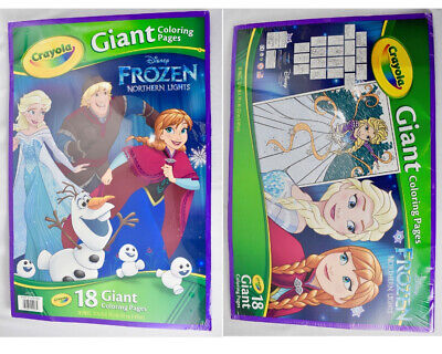Giant Colouring Pages, Frozen 2 - Crayola Store | 320x400
