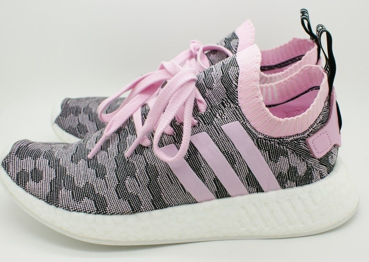 Adidas Originals Women NMD R2 PK PK PK Primeknit Sneaker shoes BY9521 Black Pink 7 NIB 0bfc99