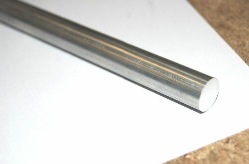 """1 x 13/"""" LENGTH FROM THE CHRONOS RANGE OF METALS 7//16 SILVER STEEL"""