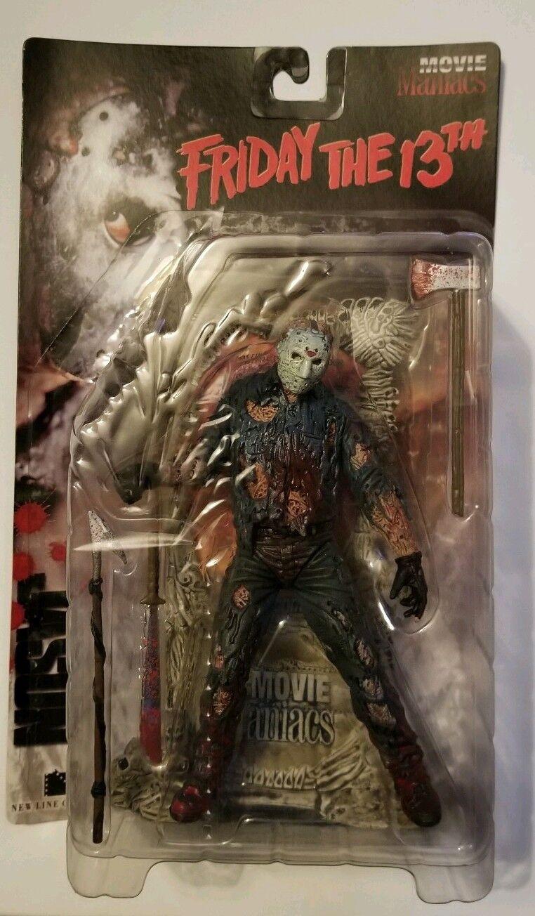 Jason voorhees mcfarlane spielzeug, freitag der 13. film irren action - figur