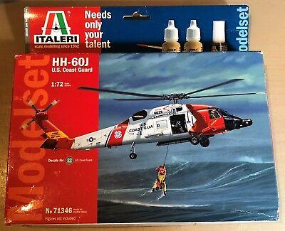 Briljant Italeri 71346 - Hh-60j U.s. Cost Guard - 1/72 Plastic Kit Nuovo Rijden Met Een Brullende Handel