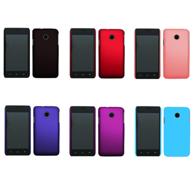 Hard Rubberized Matte Snap-On Slim Cover Case for Huawei Ascend Y330