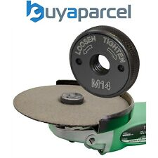 Heavy Duty Angle Grinder Disc Quick Change Locking Flange Nut Quick Release M14