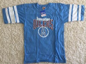 dc4b3d90d Image is loading Vintage-80-s-Logo-7-Houston-Oilers-Jersey