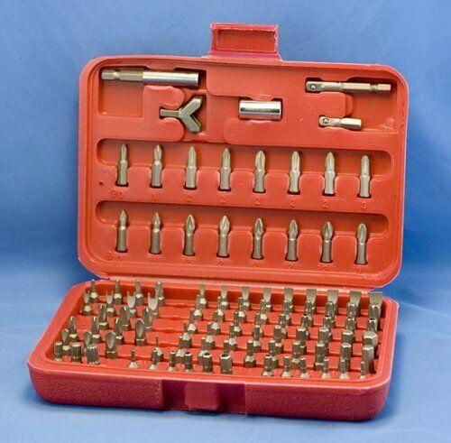 100 Pc Security BIT Tamper Proof SET Locksmith Torx Hex