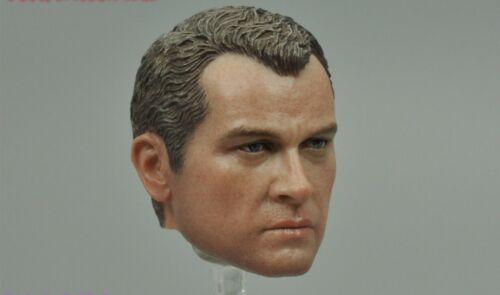 Head Sculpt for SS 111 US Army 28th Infantry Division Ardennes 1944 1//6 Scale