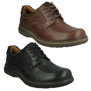 MENS-CLARKS-UNSTRUCTURED-UN-RAMBLE-WIDE-LACE-UP-SMART-CASUAL-LEATHER-SHOES-SIZE