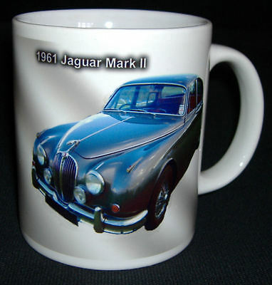 JAGUAR MARK 2  CLASSIC CAR  MUG