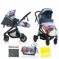 Koochi Litestar 2 In 1 Pram Pushchair Baby Stroller San Fran From Birth