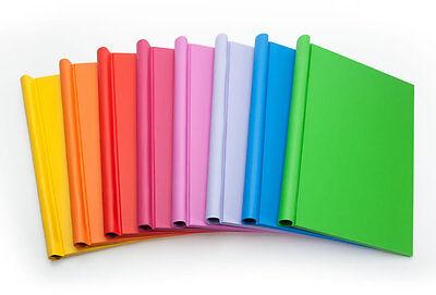 Orange Brightly Coloured Springback Binder A4 Portrait 1-150 Pages