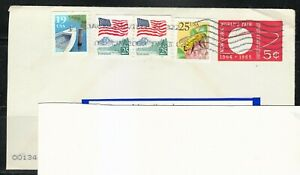 United-States-World-Fair-1964-cover-postal-used-only-2009-to-Lithuania-RARE-Bee