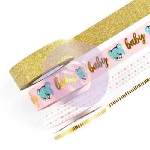 Decorative Tapes 40 Yards Baby Washi 595395 Prima Marketing HEAVEN SENT#2