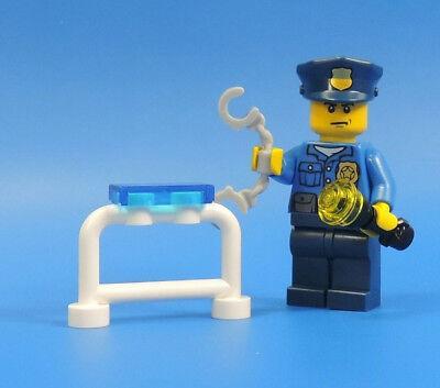 LEGO® City Polzei 60044 Figur Polizei Boss mit Zubehör aus Mobileinheit Nr.36