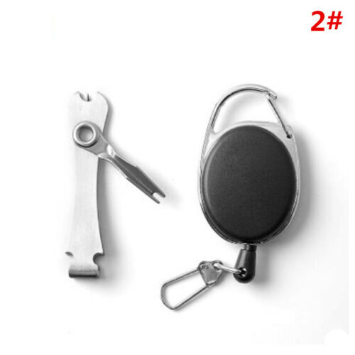 Multifunction Quick Knot Tool 4in1 Fly Fishing Clippers Line Nipper Tying Zinger