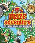 Maze Adventure: Fun Puzzles, Amazing Facts, Great Story by Andy Peters (Paperback, 2013)
