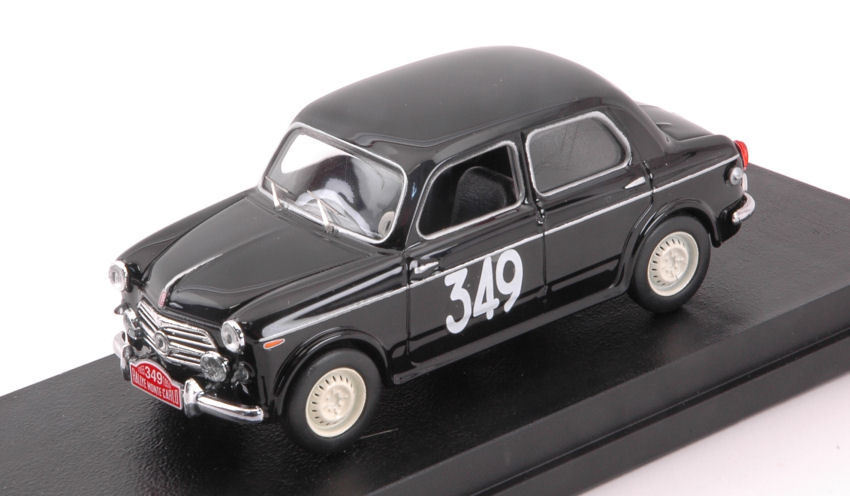 Fiat 1100 E  349 25th Monte Carlo 1955 Dunod   Sampigny 1 43 Model RIO4581 RIO