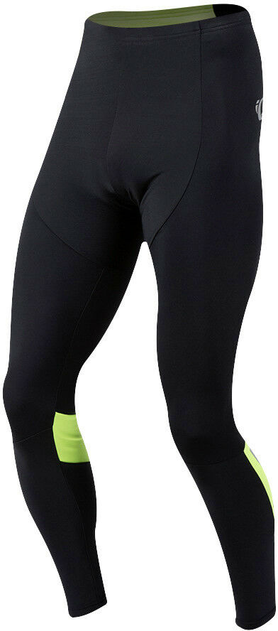 Pearl Izumi Pursuit thermal invierno bicicleta pantalón negro amarillo 2018