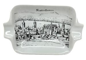 Vintage Royal Porzellan Kenfers Lautern Ashtray Bavaria Germany Porcelain KPM