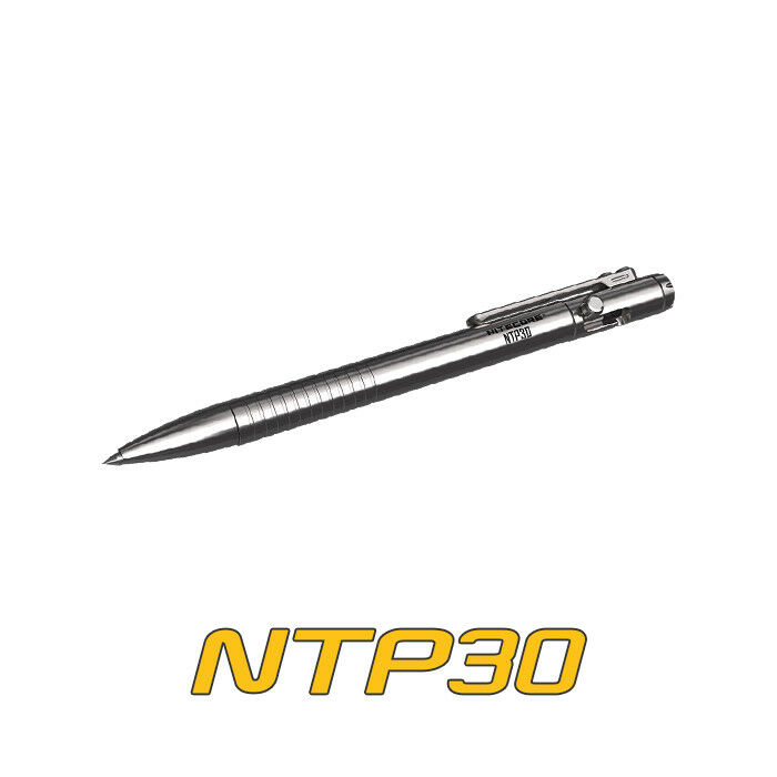 NiteCore NTP30 Titanium Tactical Self-defense Ballpoint Pen Survival Tool Pen