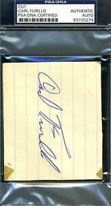 Carl-Furillo-Vintage-Signed-Psa-dna-Authenticated-3x5-Index-Cut-Autographpc