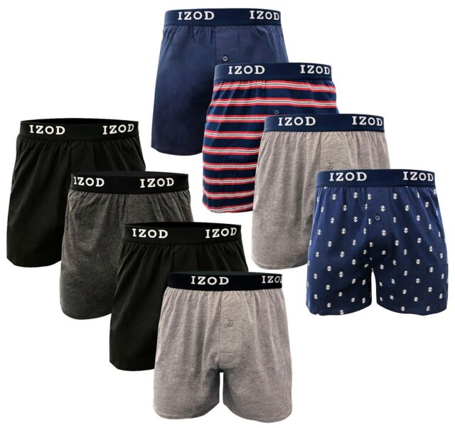 Pack 6-12 Mens Underwear Boxer Briefs Trunks Shorts Underpants Knickers Lot Grey