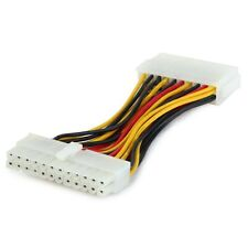 24 Pin Male to 20 Pin Female ATX cable adapter for Desktop PC PSU Power Supply