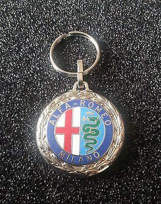 Accessoires & Fanartikel Maße Des Emblems 38mm Limpid In Sight Alfa Romeo Schlüsselanhänger Emailliert Schlüsselanhänger