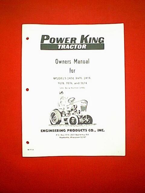 Diagram  Power King 1614 Tractor Wiring Diagram Full