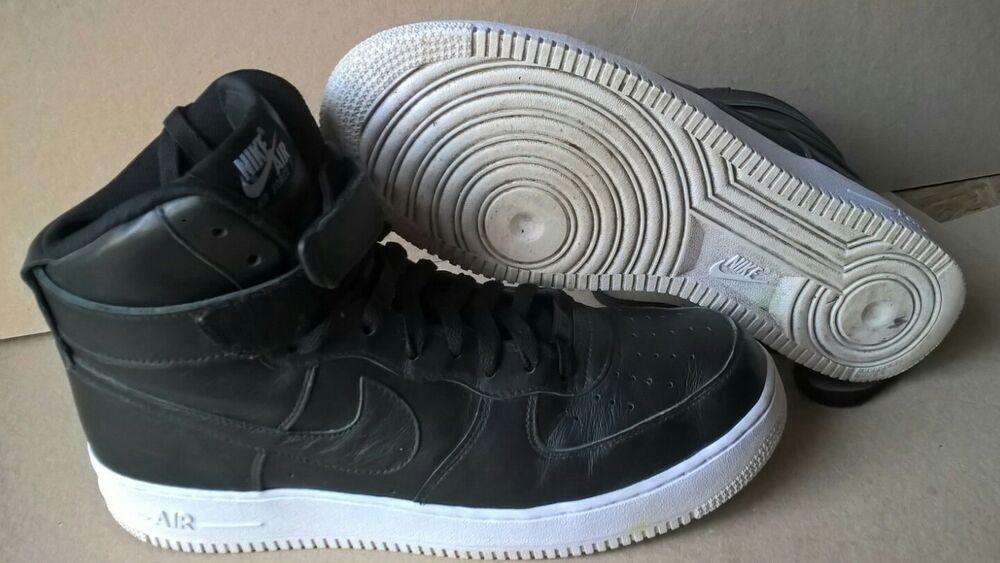 Nike id Air Force Noir 1 strap Noir Force Monday Chaussures de sport pour hommes et femmes 30732d