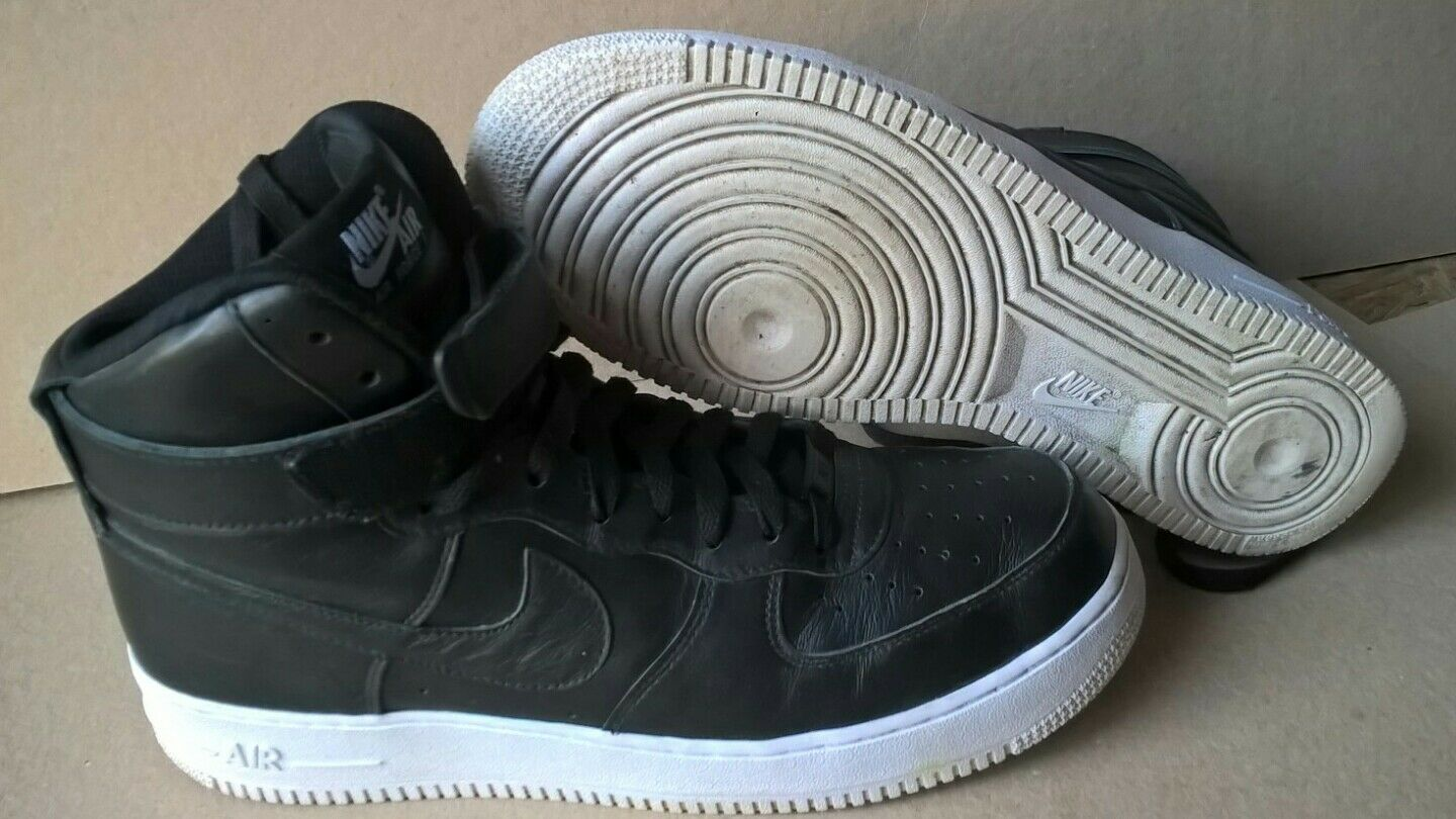 outlet store 72857 5faf6 Nike id id id Air Force 1 strap Black Monday EUR44 US10 UK9 Max retro XVIII