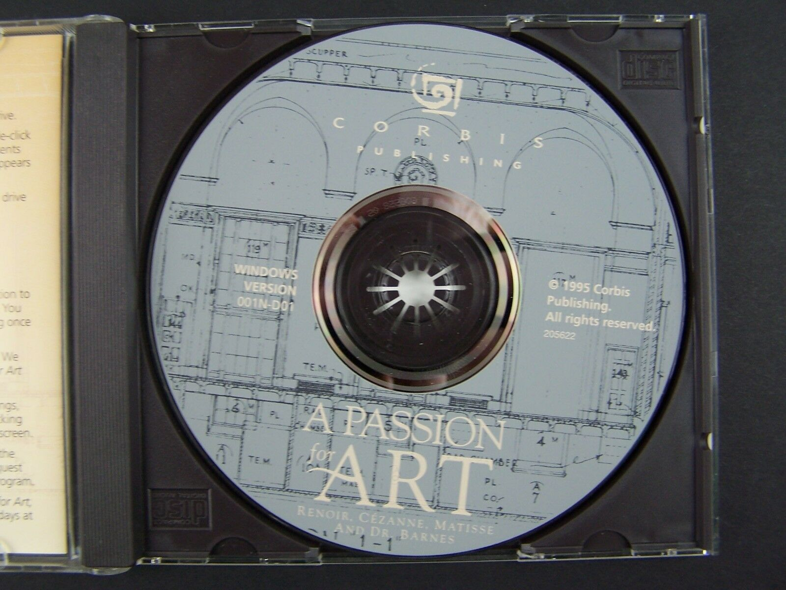 A Passion for Art Multimedia PC Game CD-ROM