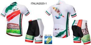 CICLISMO ABBIGLIAMENTO COMPLETO CYCLING SET ITALY 2020 ITALIA MTB BICI BIKE