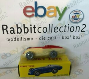 DIE-CAST-034-AUTO-DE-COURSE-COLOR-CREMA-COD-23-A-034-DINKY-TOYS-ATLAS-1-43