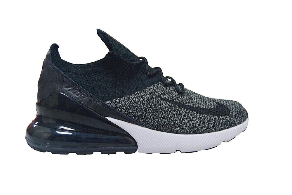 Da Uomo Nike Air Max 270 Flyknit * Rare * - AO1023001-Nero Bianco   Da Ginnastica