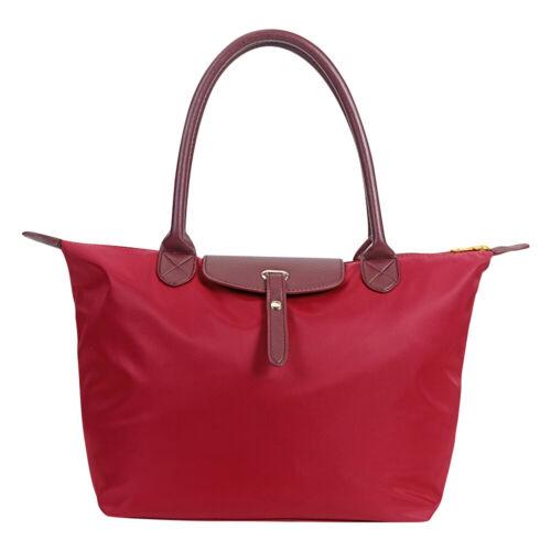 Popular Women Wallet Leather Totes Nylon Messenger Dumpling Bag Shoulder Handbag
