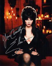 Elvira: Mistress of the Dark Autographed 8X10 PHOTO Man Cave DECOR Reprint BAR