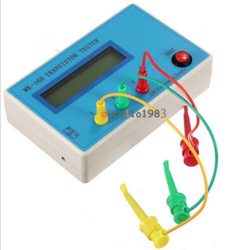 MK-168 TR \ LCR \ ESR Transistor LCR ESR Testeur Dispositif Semiconducteur analyseur nouveau