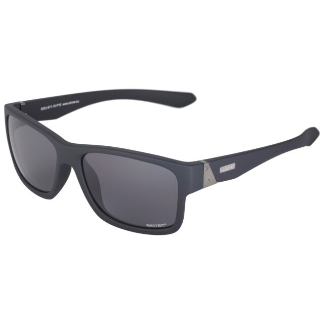 622f22cfd8 SINNER Polarized Sundown Sunglasses Matte Black   Grey Polarised Cat ...