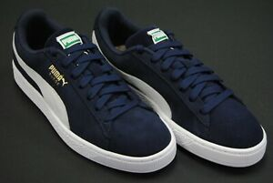 check out 4a2ba 8d163 Details about [356568 51] NEW MEN'S PUMA SUEDE CLASSIC + PEACOAT NAVY BLUE  WHITE PM15