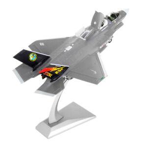 Scala-1-72-American-F-35B-Fighter-Aircraft-Pressofuso-in-metallo-modello-e