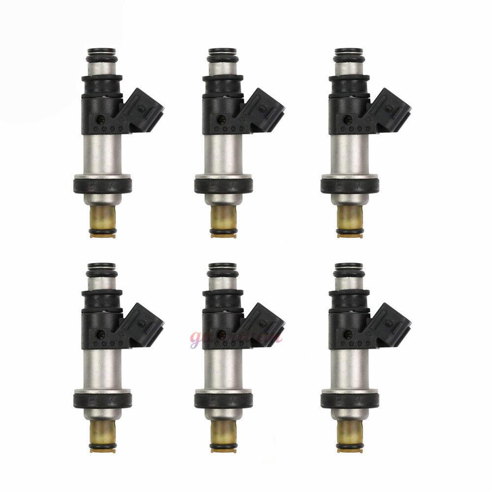 Set Of 6 OEM Fuel Injector For 01-04 Honda Odyssey Pilot