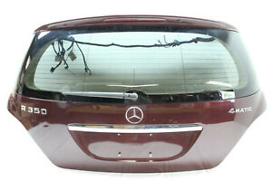 2007-MERCEDES-R350-TRUNK-LID-ASSEMBLY-BAROLO-RED-OEM-06-07-08-09-10-11-12-13