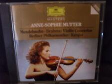Mendelssohn / Brahms - Violin Concertos  -Anne-Sophie Mutter / BP/ Karajan