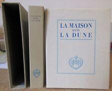 VAN DER MEERSCH LA MAISON DANS LA DUNE ILLUSTREE PAR PIERRE LECONTE 900 ex 1946