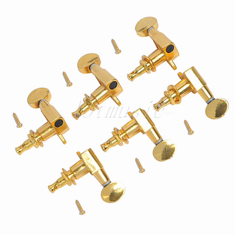 6r6l guitar tuning peg machine heads for fender gibson guitar replacement ebay. Black Bedroom Furniture Sets. Home Design Ideas