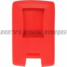 New Red Keyless Remote Smart Key Fob Clicker Case Skin Jacket Cover Protector
