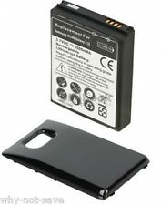 Extended Battery replacement with back Cover for Samsung Galaxy s II 2 i9100 new